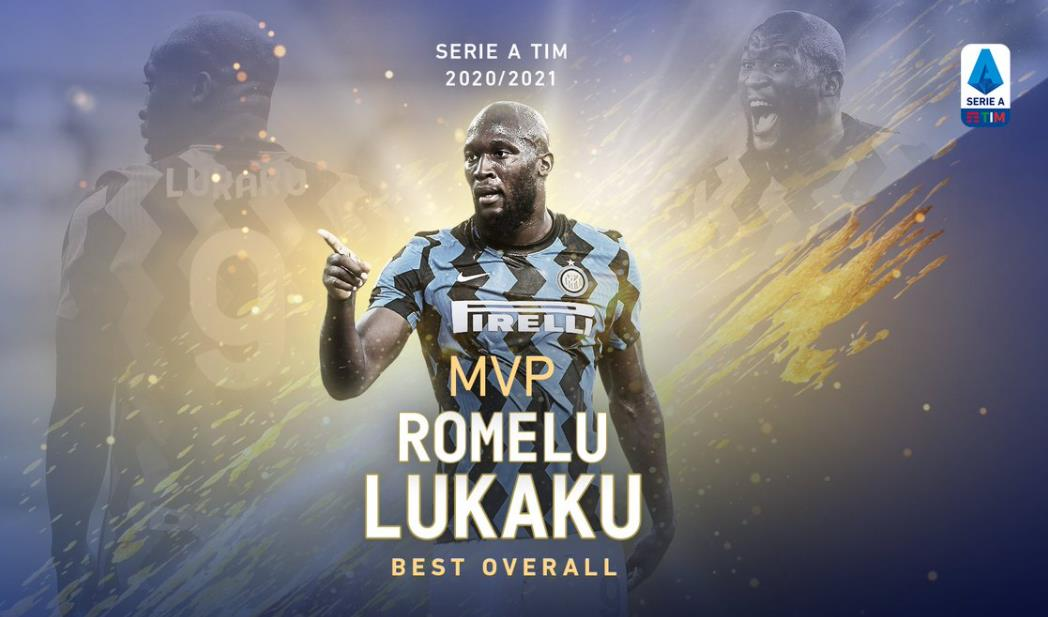 卢卡库赢得本赛季意甲最佳球员MVP奖