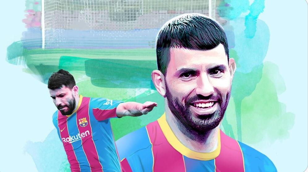 巴塞罗那将以两年合同签下曼城前锋塞尔希奥·阿奎罗