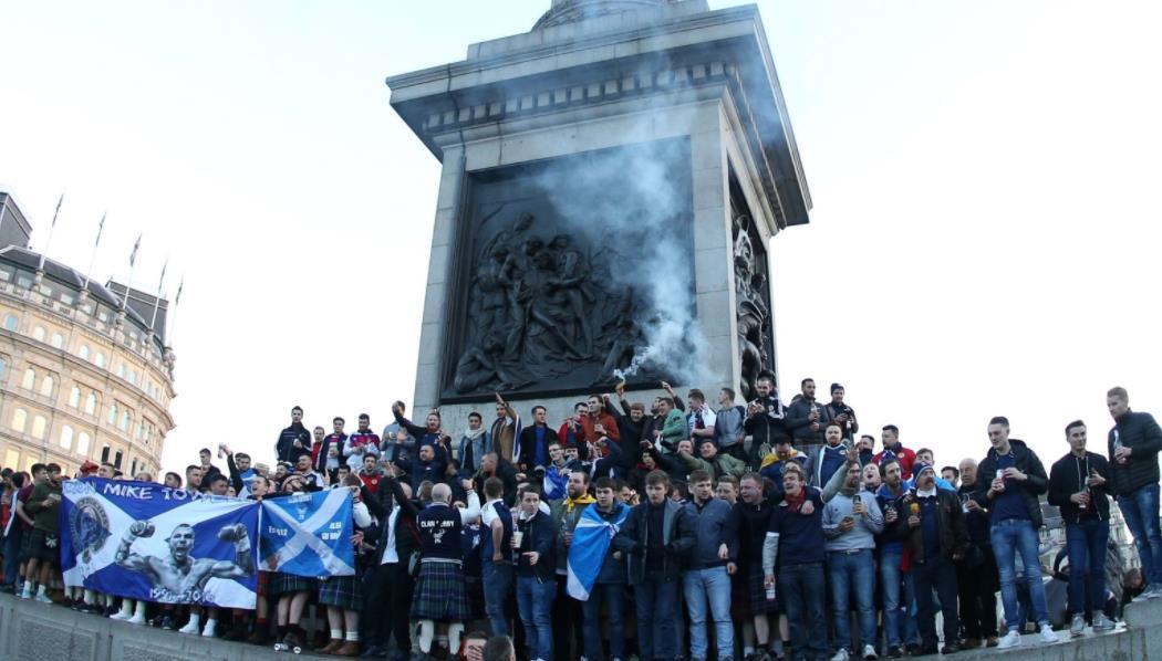 没有英格兰小组赛门票的苏格兰球迷敦促不要前往伦敦