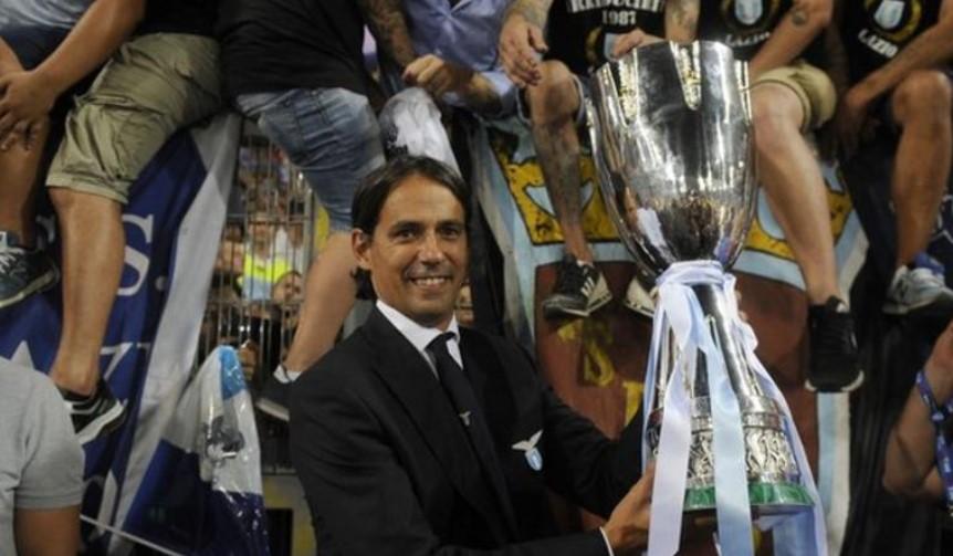 国际米兰宣布前拉齐奥经理西蒙尼·因扎吉将接替孔蒂