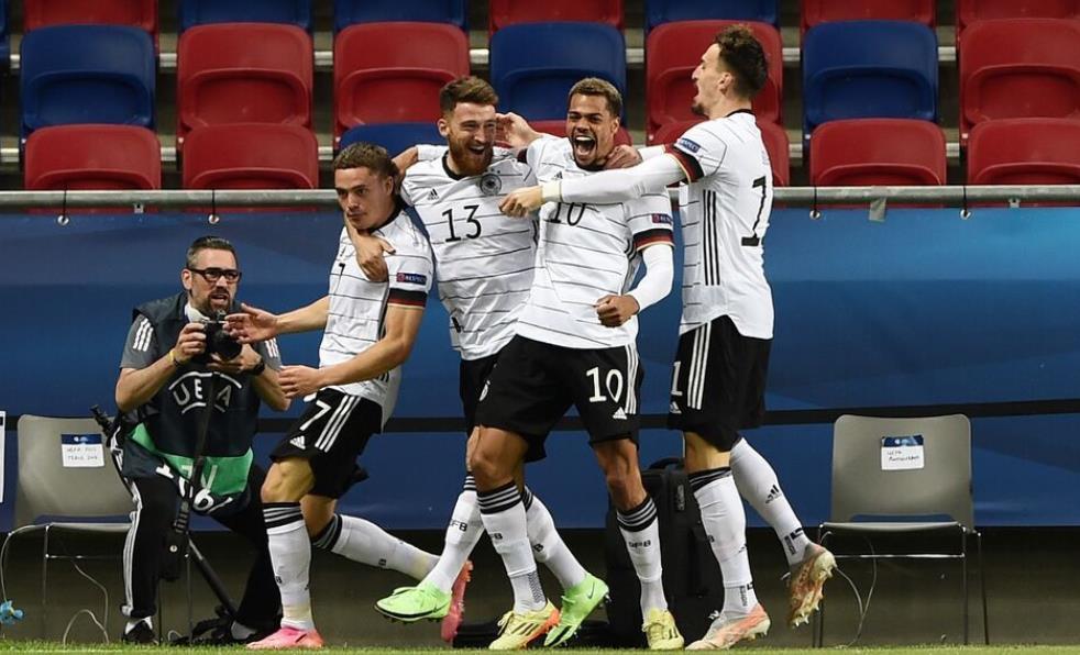 德国击败荷兰和葡萄牙击败西班牙,建立欧洲U21锦标赛决赛