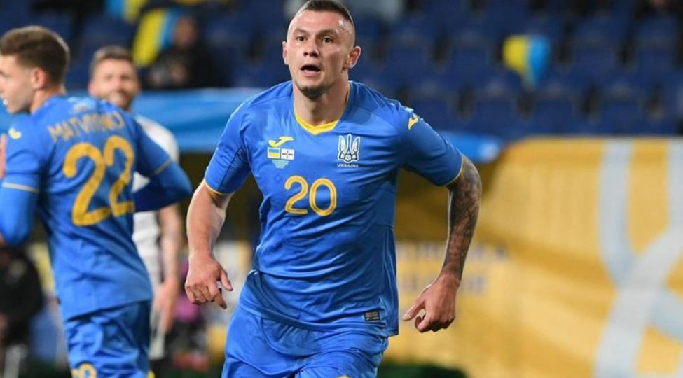 奥历山大~祖布科夫在 2020 年欧洲杯热身赛中唯一的进球