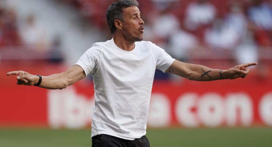 西班牙的路易斯~恩里克希望球迷停止对球员的嘘声