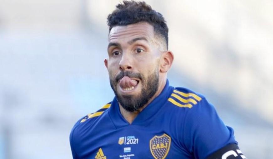 博卡青年队前阿根廷前锋卡洛斯·特维斯退出