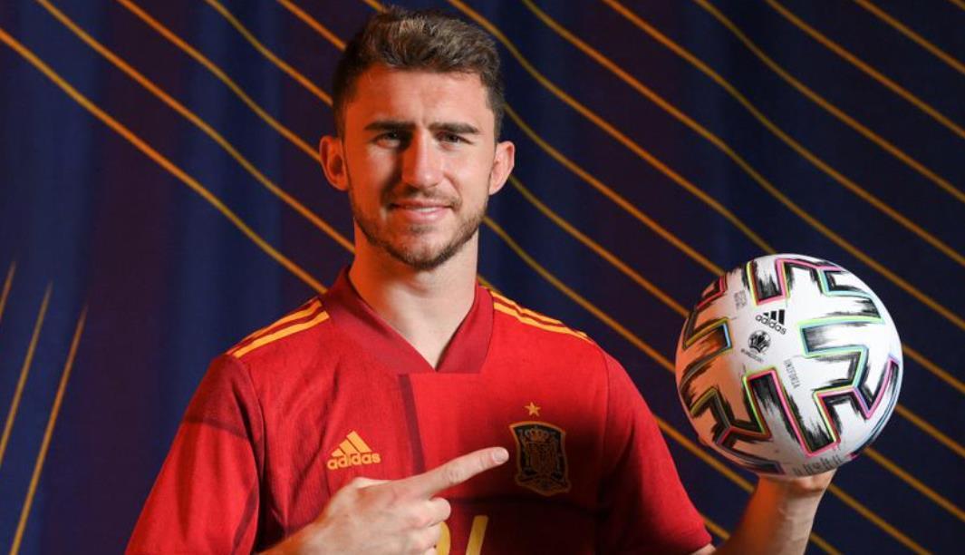 埃梅里克~拉波尔特首次代表西班牙对阵葡萄牙