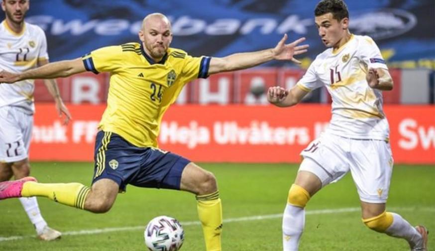 瑞典在欧洲杯热身赛中击败亚美尼亚