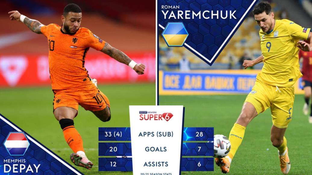 荷兰VS乌克兰,谁将在2020欧洲杯揭幕战中取得好成绩?