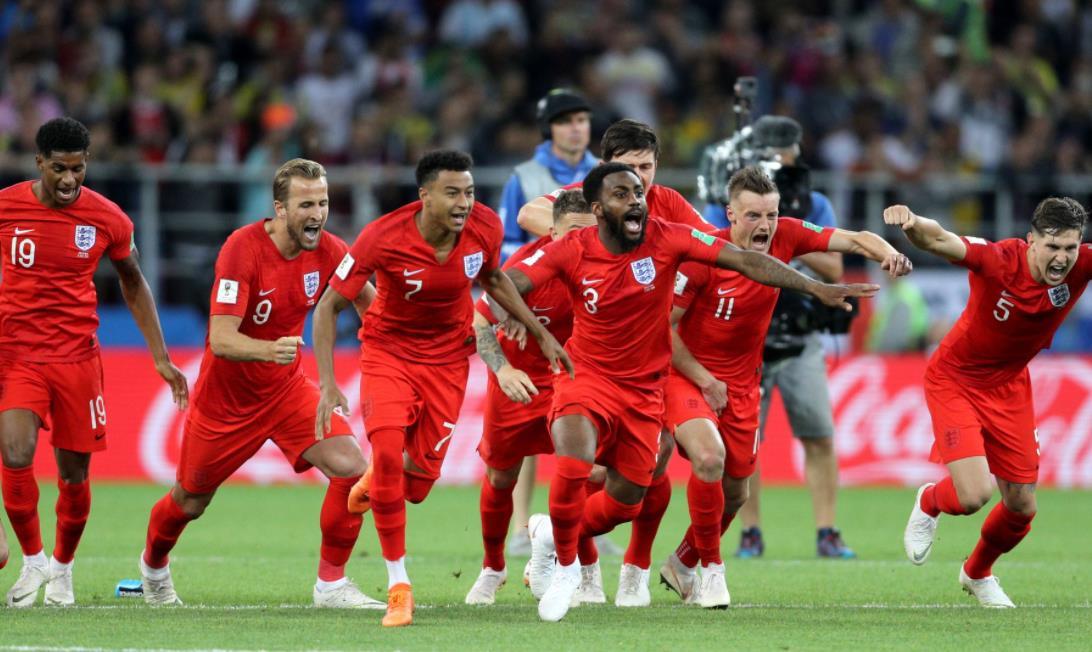 英格兰的卢克~肖透露球队将在淘汰赛阶段前练习点球