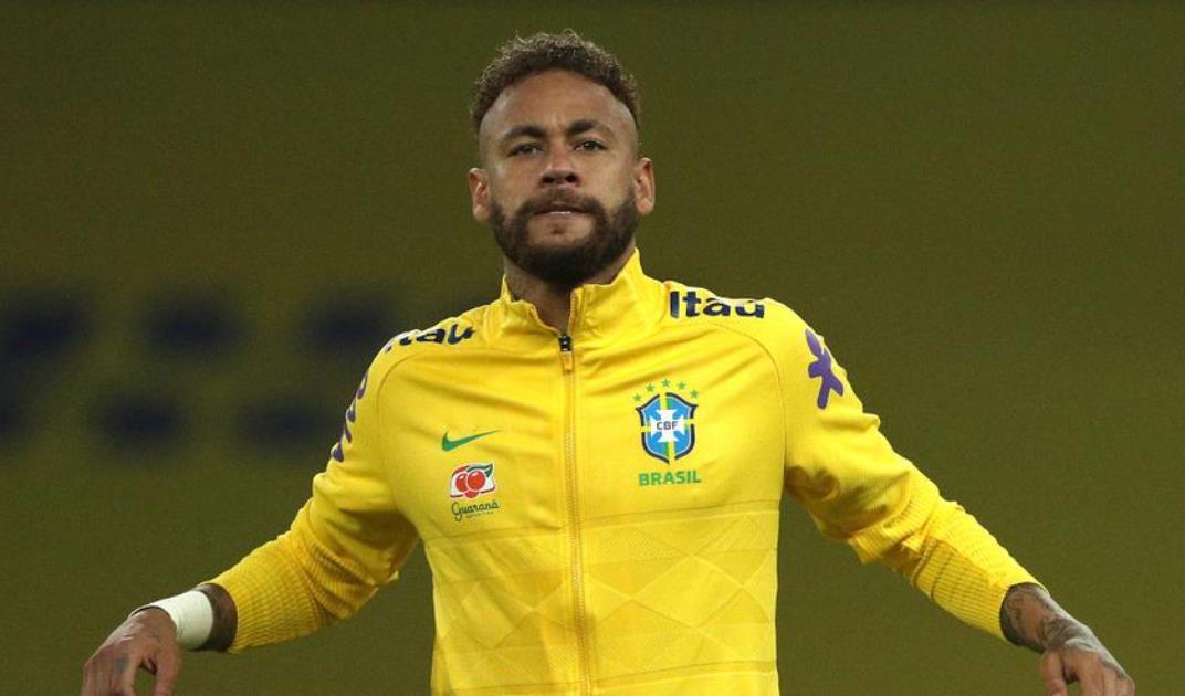 内马尔带领巴西队征战美洲杯