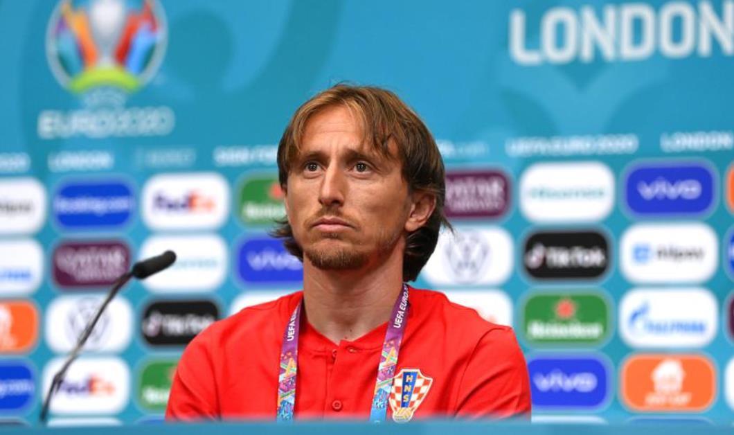 """克罗地亚的莫德里奇说英格兰主场比赛""""不公平"""""""