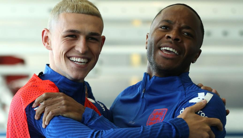 菲尔~福登和拉希姆~斯特林将在 2020 年欧洲杯小组赛揭幕战中为英格兰首发