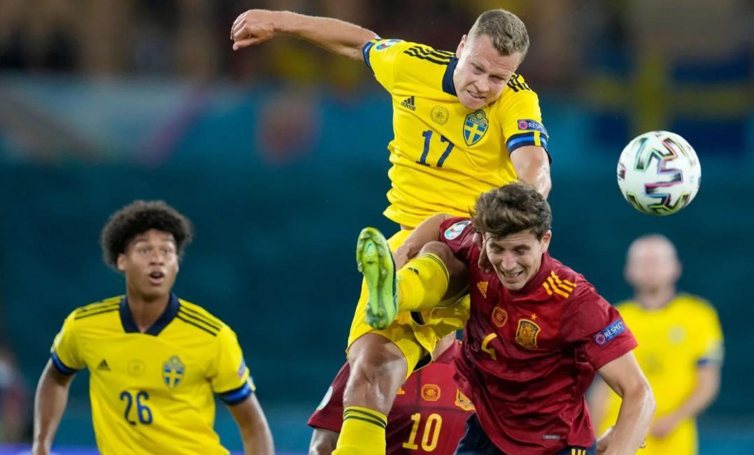 瑞典固执的防守导致平局