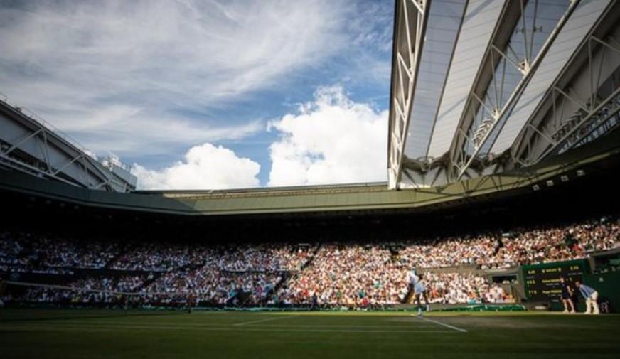 温布尔登网球锦标赛的决赛球迷容纳量