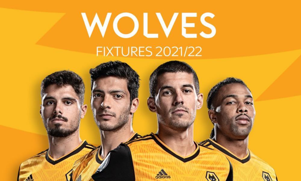 狼队:英超联赛 2021/22 赛程表