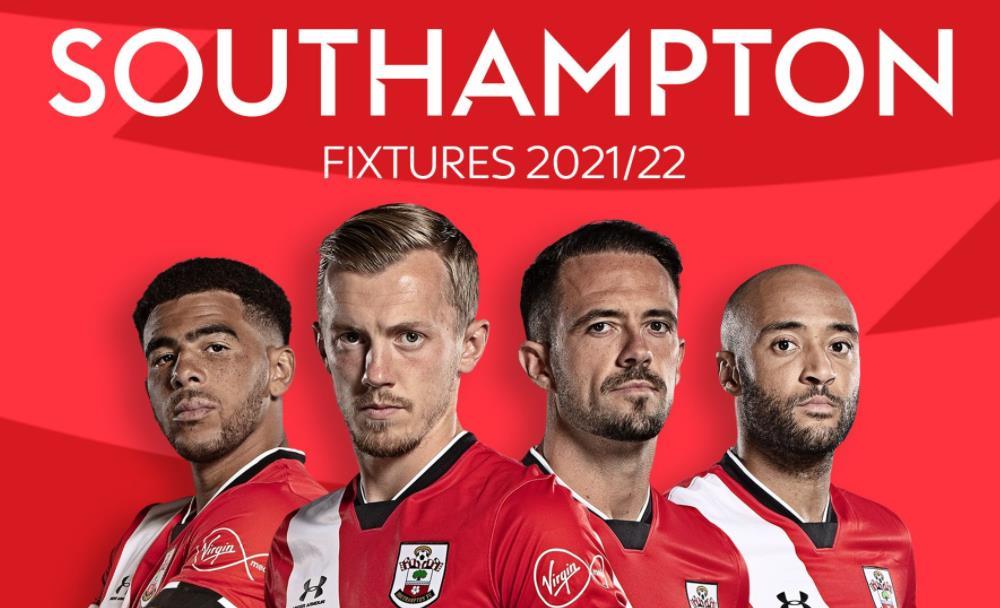 南安普顿:英超联赛 2021/22 赛程表