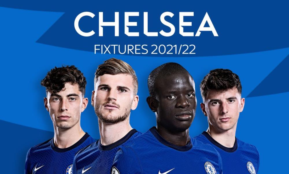 切尔西:英超赛2021/22赛程表