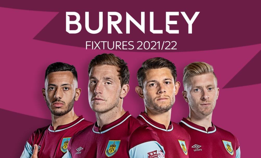 伯恩利:英超联赛 2021/22 赛程表