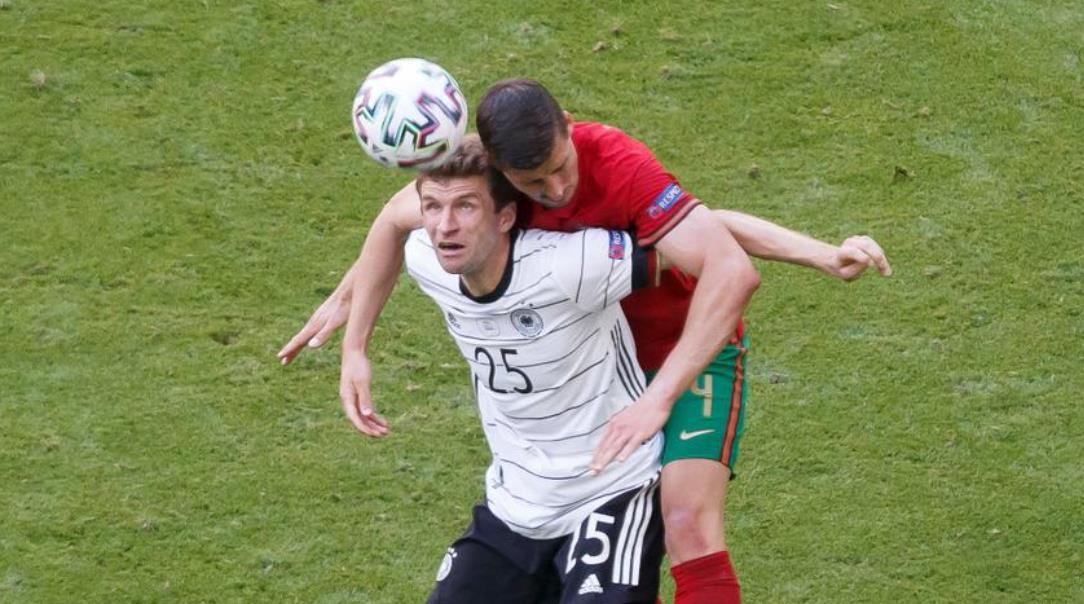 德国对阵葡萄牙的紧迫比赛取得了成果