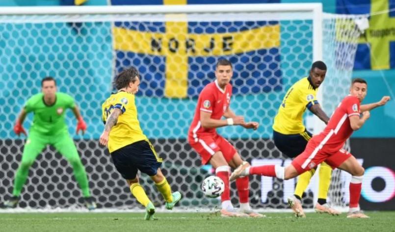 第93分钟的晚进球决定了瑞典的命运
