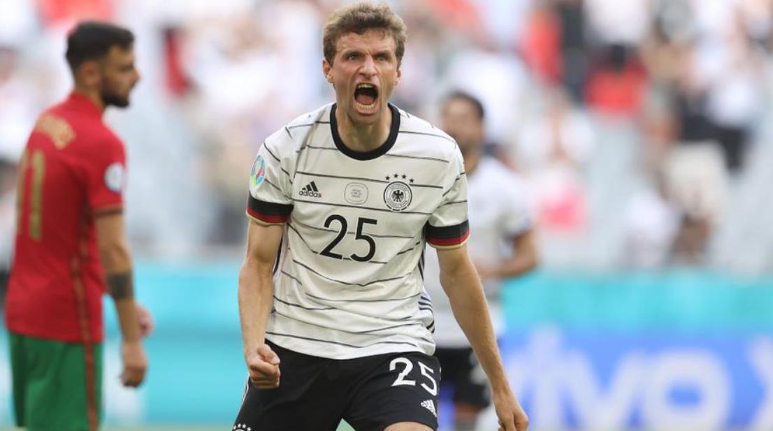穆勒宣布自己适合在对阵英格兰的阵容