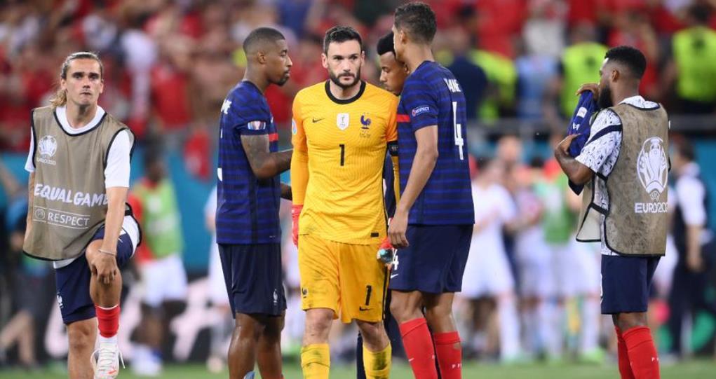 """法国退出 2020 年欧洲杯后,洛里斯""""受伤"""""""