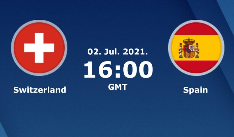 瑞士与西班牙之间的比赛数据