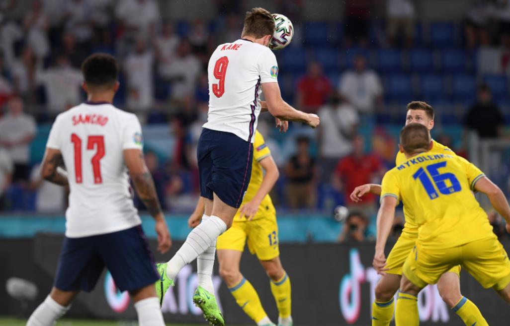 受凯恩启发的英格兰队越过乌克兰进入欧洲半决赛