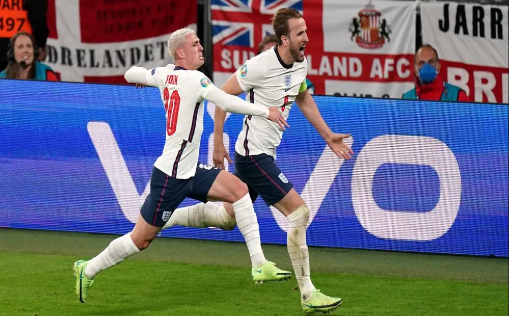 随着英格兰在半决赛中击败了西班牙,凯恩获得加时赛冠军