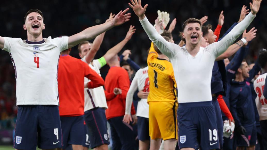 英格兰进入欧洲杯决赛是一项重大壮举,并称赞勇敢的索斯盖特