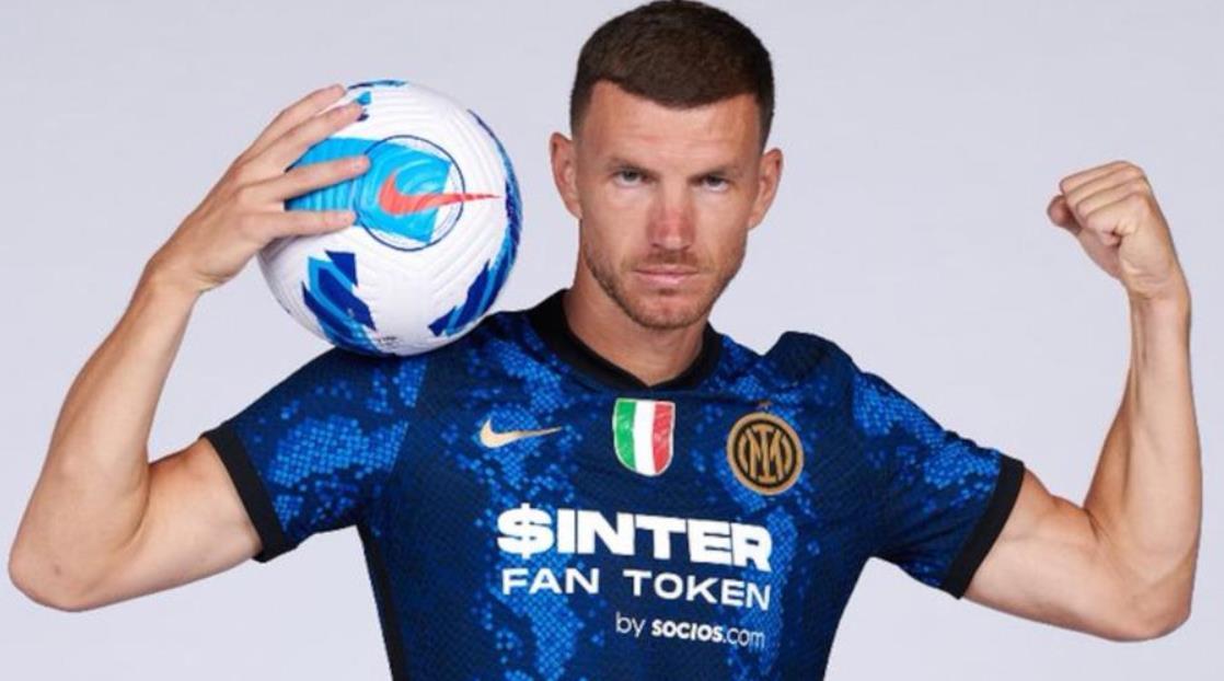 国际米兰以两年的合同签下了罗马前锋