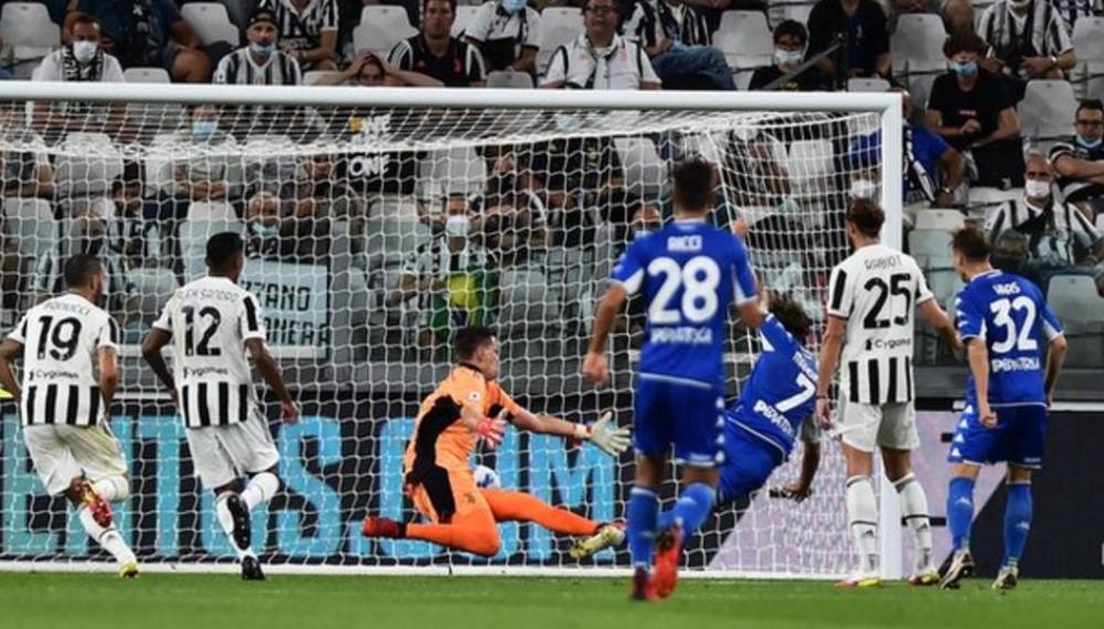 恩波利第二次在西甲联赛中击败尤文图斯