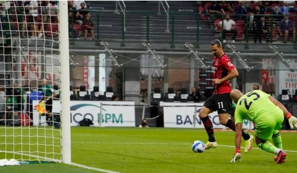 兹拉坦·伊布拉西莫维在康复回归后在他的第24个联赛赛季中射进了球