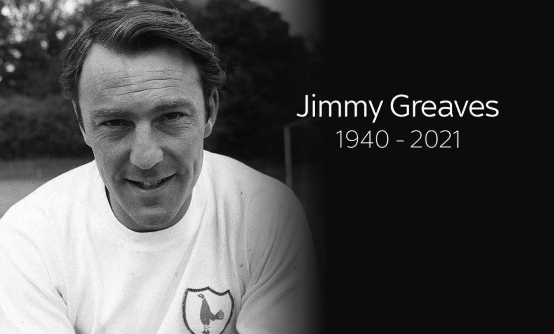 前英格兰、热刺和切尔西前锋去世,享年 81 岁