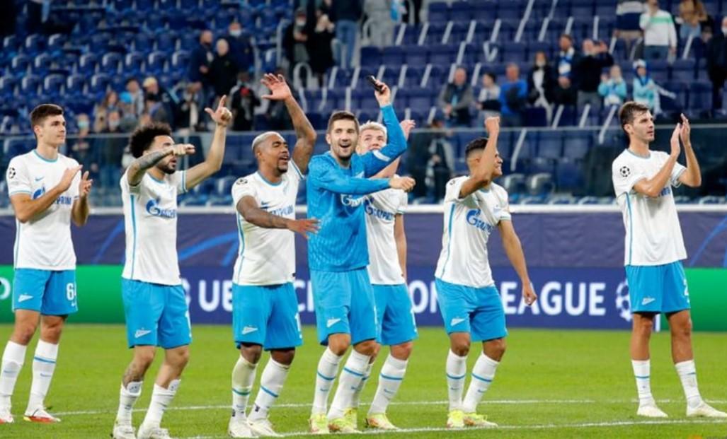圣彼得堡泽尼特以4比0战胜了马尔默