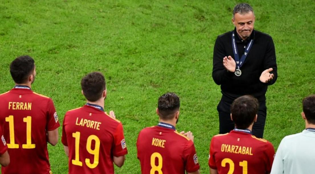 尽管国家联盟失利,路易斯.恩里克仍为西班牙感到自豪